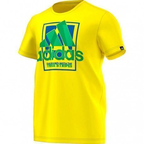 COUNTRY LOGO amarillo adidas