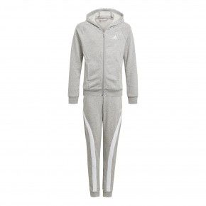 Girls Hooded Cotton Tracksuit adidas